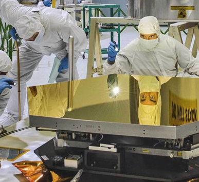 Aiming for the Stars - the James Webb Space Telescope