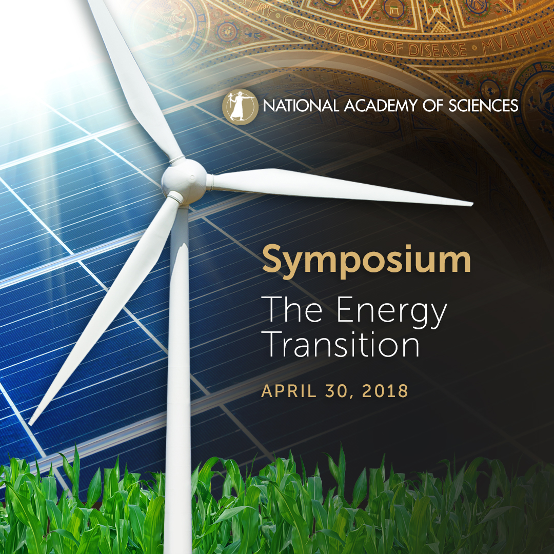Watch the April 30 NAS Webcast - The Energy Transition