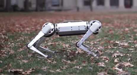 For This Robot's Next Trick, a Backflip!
