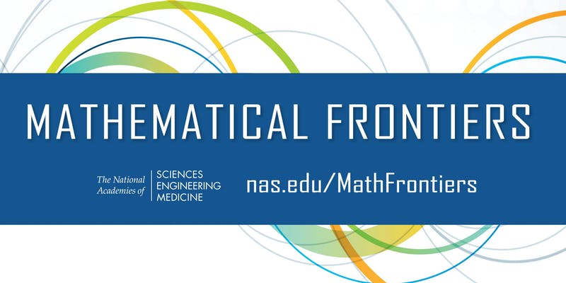 Register for Mathematical Frontiers Webinars