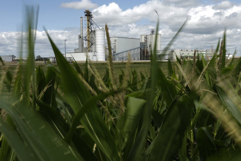 Ethanol's Effect on Climate Change