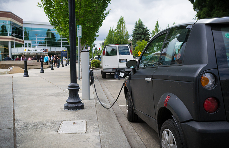 Efficiently Charging Electric Vehicles